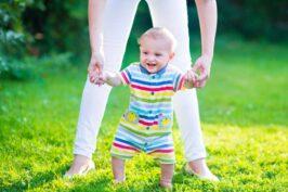 4 sugestões para ajudar o bebê a andar!